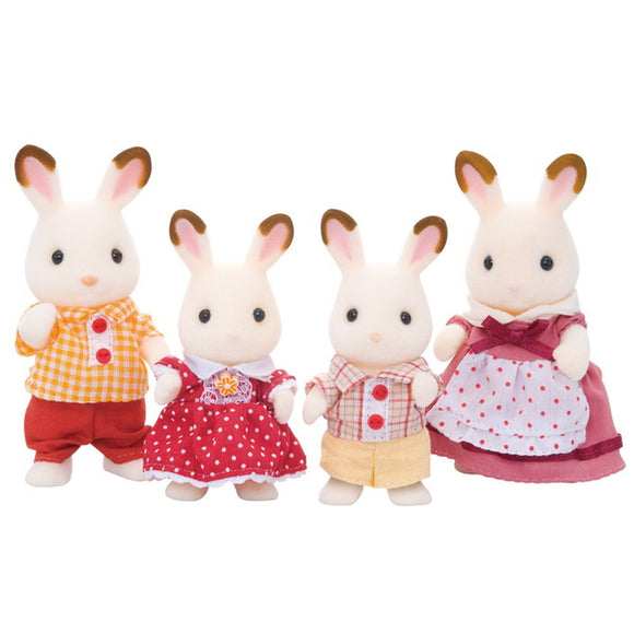 Sylvanian Families Chocolate Rabbit Family - AnimalKingdoms.co.nz