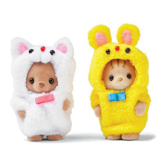 Sylvanian Families Costume Cuties - Kitty & Cub