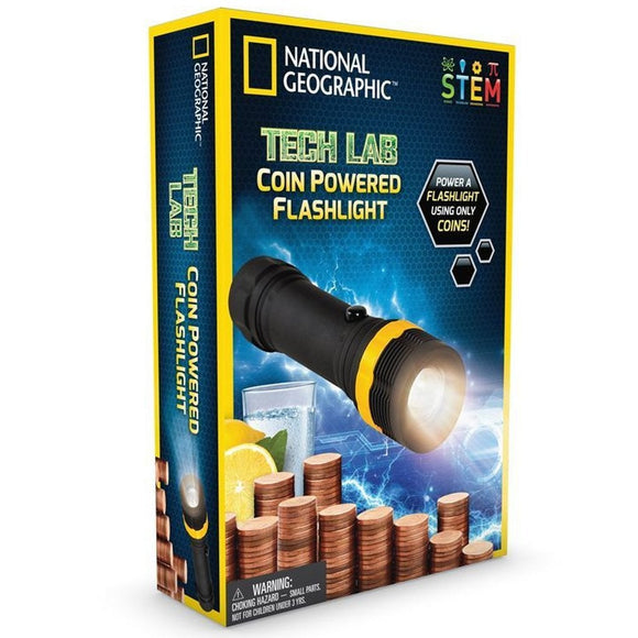 National Geographic Coin Flashlight-NGPNYLIGHT-Animal Kingdoms Toy Store