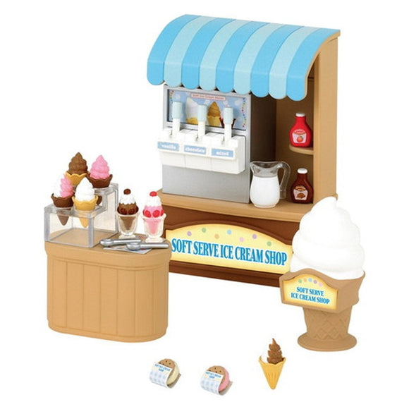 Sylvanian Families Soft Serve Ice Cream Shop - AnimalKingdoms.co.nz