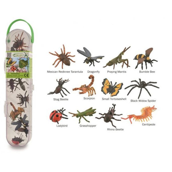 CollectA Mini Tube of Mini Insects and Spiders-81106-Animal Kingdoms Toy Store