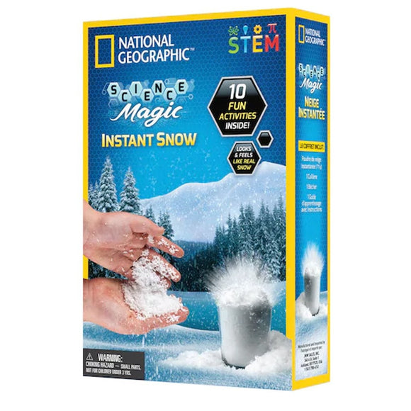 National Geographic Instant Snow - Large-NGSNOW-Animal Kingdoms Toy Store
