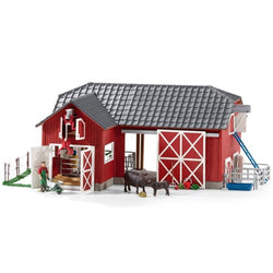 Schleich Limited Edition Large farm with Black Angus