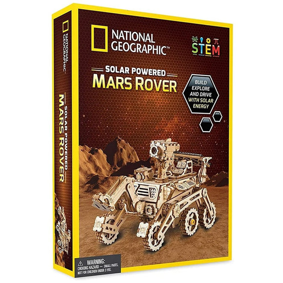 National Geographic Solar Powered Mars Rover-NGMARSROV-Animal Kingdoms Toy Store