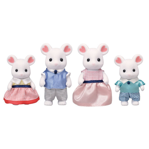 Sylvanian Families Marshmallow Mouse Family-5308-Animal Kingdoms Toy Store