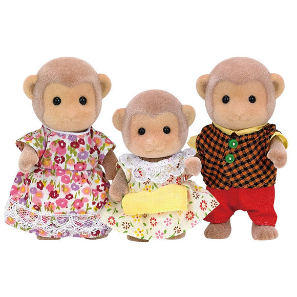 Sylvanian Families Monkey Family-5214-Animal Kingdoms Toy Store