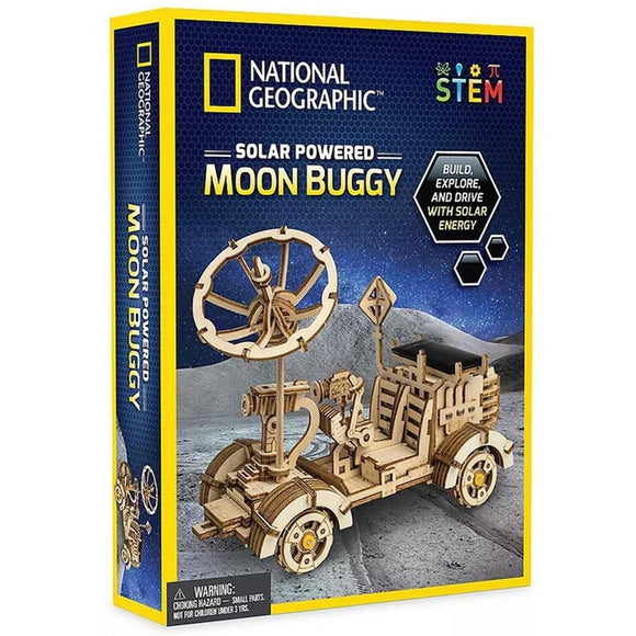 National Geographic Solar Powered Moon Buggy-NGMOONBUG-Animal Kingdoms Toy Store