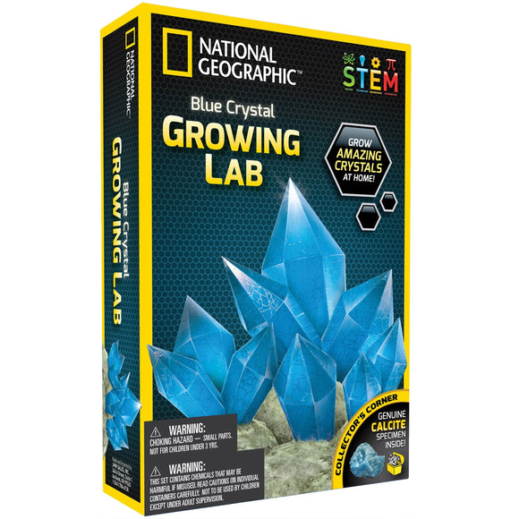 National Geographic - Blue Crystal Growing Lab-Animal Kingdoms Toy Store