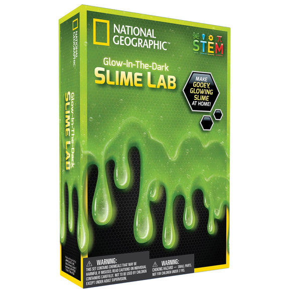 National Geographic - Science Lab Slime kit green-NGSLIME-Animal Kingdoms Toy Store
