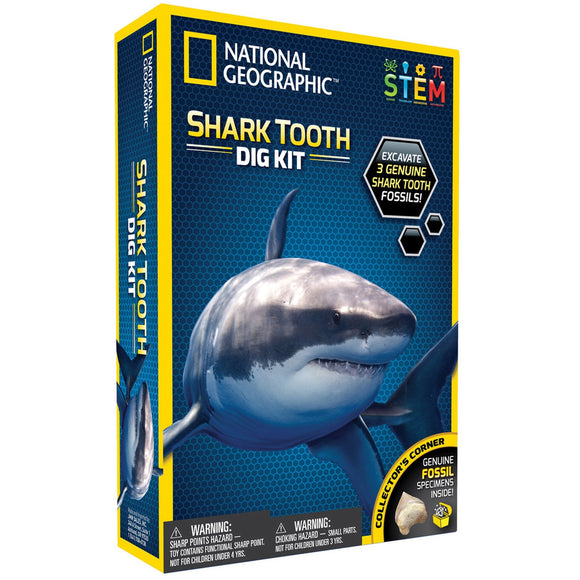 National Geographic - Shark Dig Kit - AnimalKingdoms.co.nz