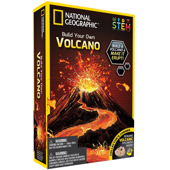 National Geographic - Volcano Science Kit-NGVOLCANO-Animal Kingdoms Toy Store