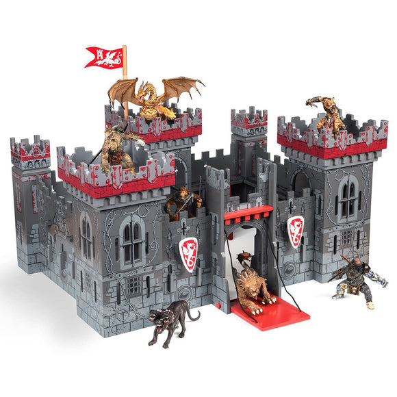 Papo Mutant Castle plus free foldable base - AnimalKingdoms.co.nz