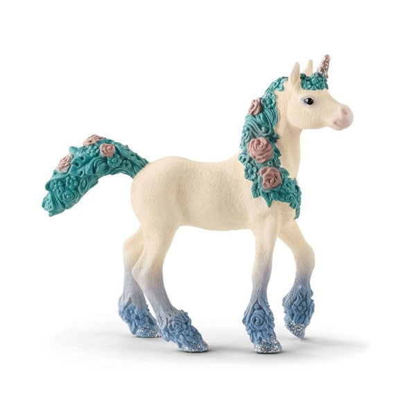 Schleich Blossom unicorn foal - AnimalKingdoms.co.nz