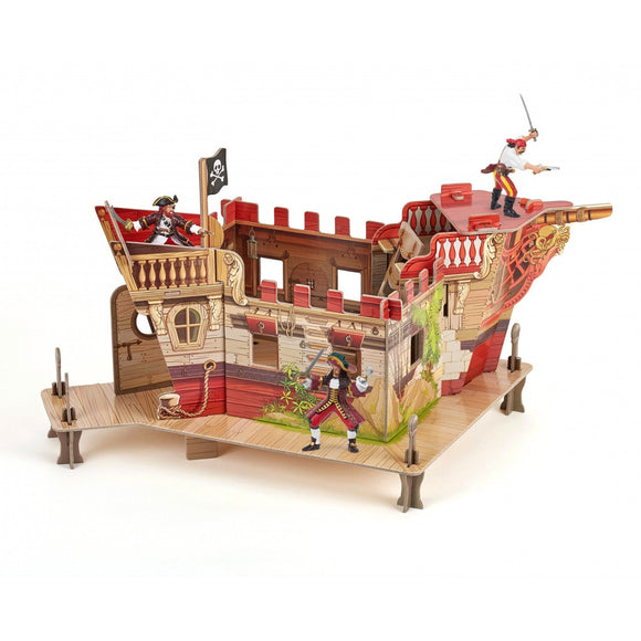 Papo Pirate Fort-80403-Animal Kingdoms Toy Store