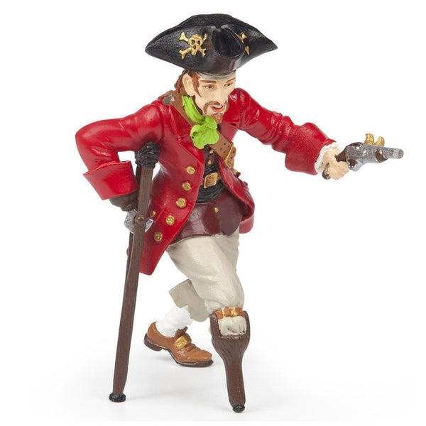 Papo Wooden Leg Pirate with Gun - AnimalKingdoms.co.nz