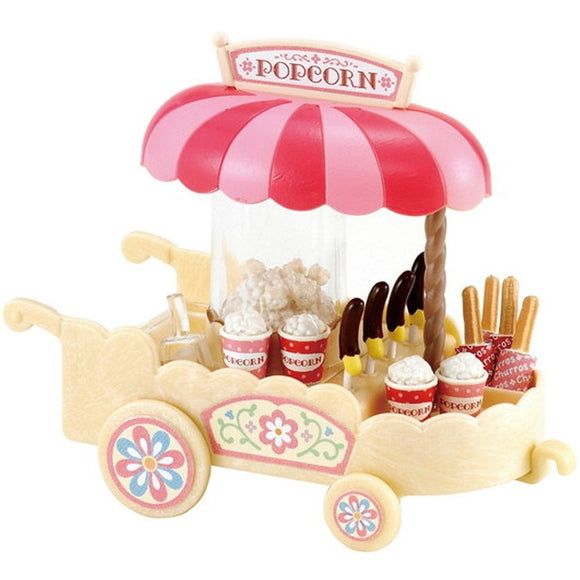 Sylvanian Families Popcorn Cart - AnimalKingdoms.co.nz