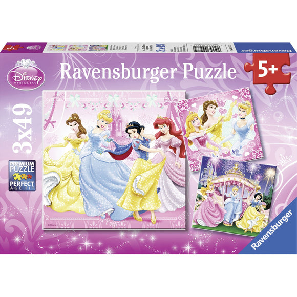 Ravensburger Disney Snow White Puzzle 3x49pc-RB09277-2-Animal Kingdoms Toy Store