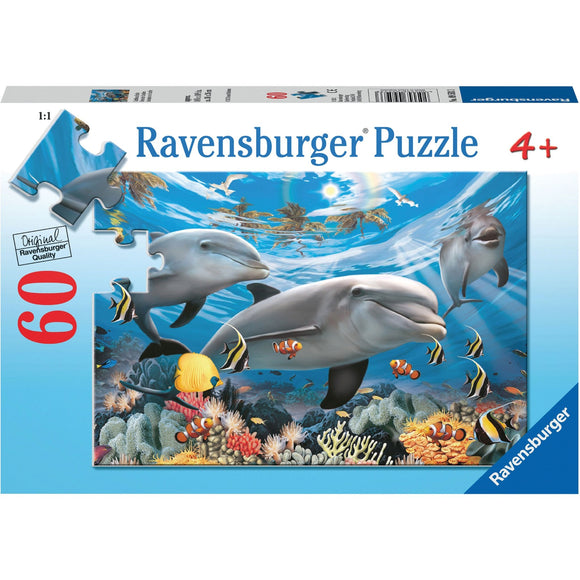 Ravensburger Caribbean Smile Puzzle 60pc - AnimalKingdoms.co.nz