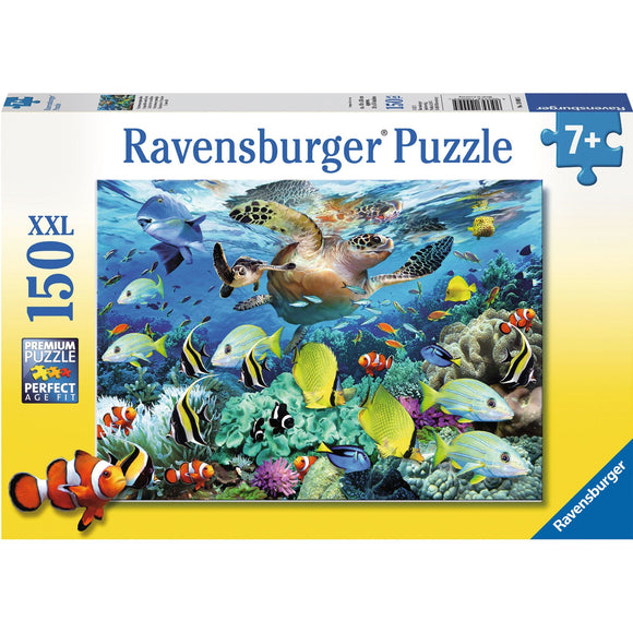 Ravensburger Underwater Paradise Puzzle 150pc - AnimalKingdoms.co.nz