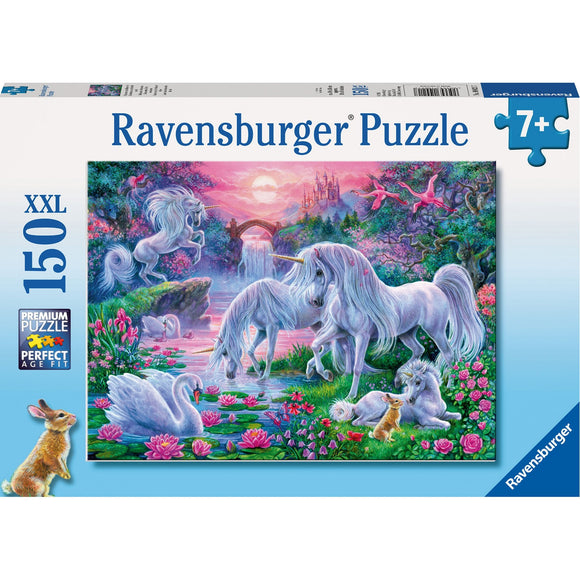 Ravensburger Unicorns at Sunset Puzzle 150pc-RB10021-7-Animal Kingdoms Toy Store