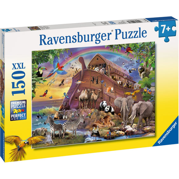 Ravensburger Boarding the Ark Puzzle 150pc-RB10038-5-Animal Kingdoms Toy Store
