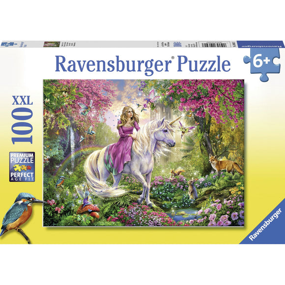 Ravensburger Magic Ride Puzzle 100pc-RB10641-7-Animal Kingdoms Toy Store