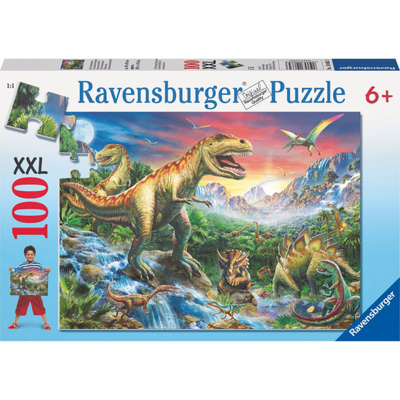 Ravensburger Time of the Dinosaurs Puzzle 100pc - AnimalKingdoms.co.nz