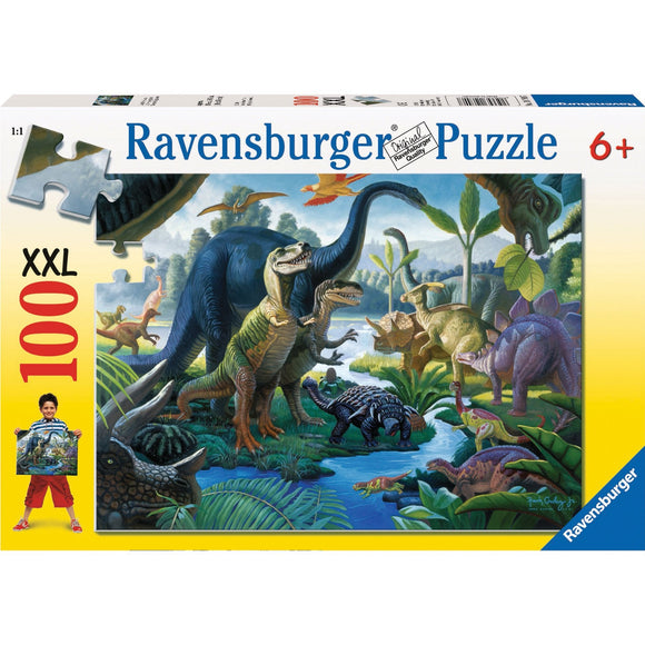 Ravensburger Land of the Giants Puzzle 100pc-RB10740-7-Animal Kingdoms Toy Store