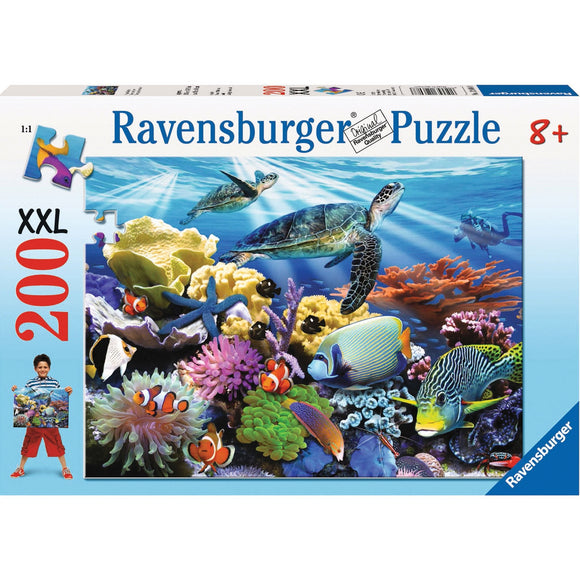 Ravensburger Ocean Turtles Puzzle 200pc - AnimalKingdoms.co.nz