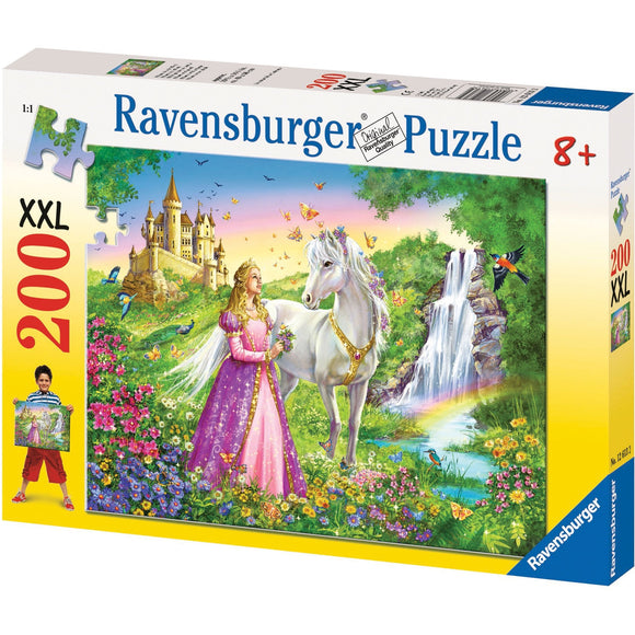 Ravensburger Princess with Horse Puzzle 200pc-RB12613-2-Animal Kingdoms Toy Store
