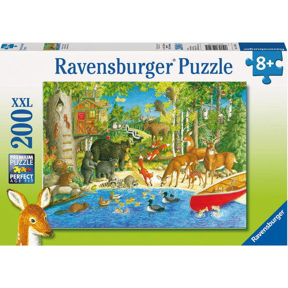 Ravensburger Woodland Friends Puzzle 200pc-RB12740-5-Animal Kingdoms Toy Store