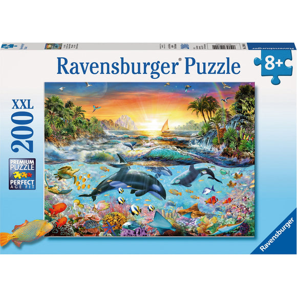 Ravensburger Orca Paradise Puzzle 200pc - AnimalKingdoms.co.nz