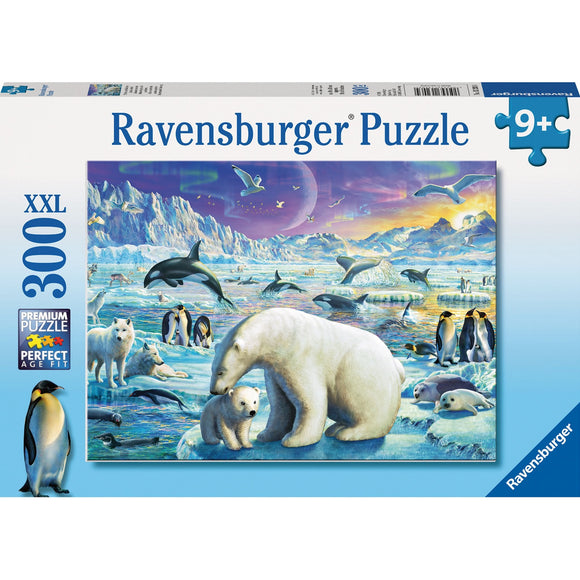 Ravensburger Meet the Polar Animals Puzzle 300pc-RB13203-4-Animal Kingdoms Toy Store