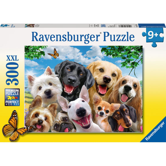 Ravensburger Delighted Dogs Puzzle 300pc-RB13228-7-Animal Kingdoms Toy Store