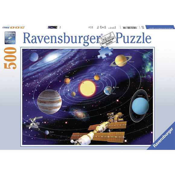 Ravensburger Solar System Puzzle 500pc-RB14775-5-Animal Kingdoms Toy Store