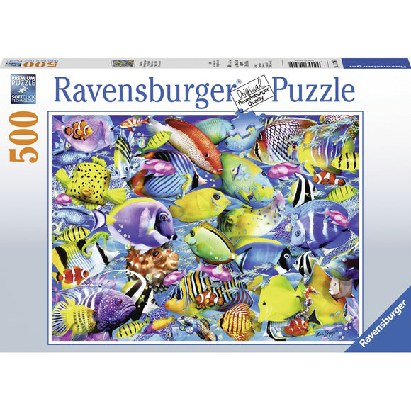 Ravensburger Tropical Traffic Puzzle 500pc-RB14796-0-Animal Kingdoms Toy Store