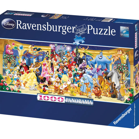 Ravensburger Disney Group Photo Puzzle 1000pc-RB15109-7-Animal Kingdoms Toy Store