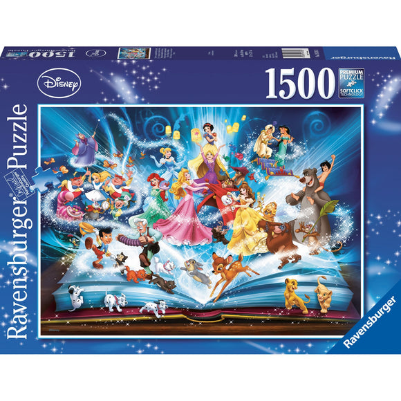 Ravensburger Disney Magical Storybook Puzzle 1500pc-RB16318-2-Animal Kingdoms Toy Store