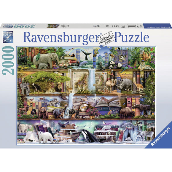 Ravensburger Wild Kingdom Puzzle 2000pc-RB16652-7-Animal Kingdoms Toy Store