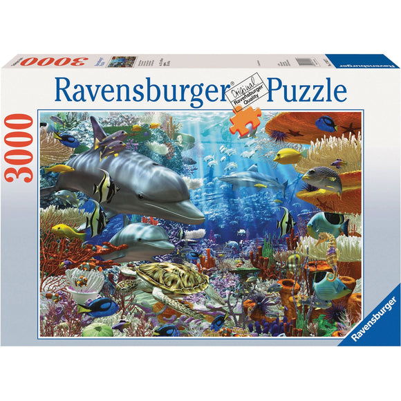 Ravensburger Ocean Wonders Puzzle 3000pc-RB17027-2-Animal Kingdoms Toy Store