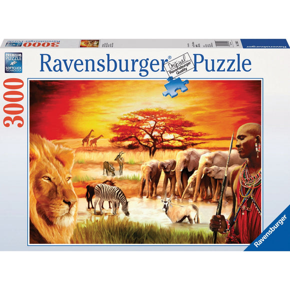 Ravensburger Proud Maasai Puzzle 3000pc-RB17056-2-Animal Kingdoms Toy Store