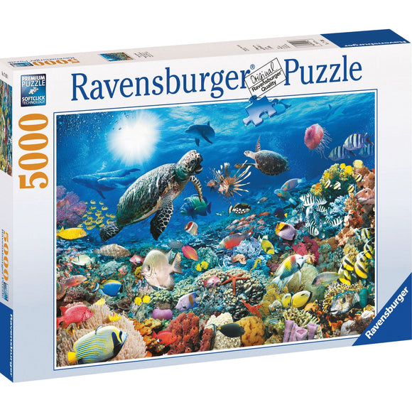 Ravensburger Beneath the Sea Puzzle 5000pc-RB17426-3-Animal Kingdoms Toy Store