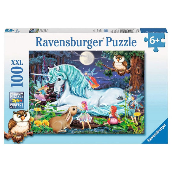 Ravensburger Enchanted Forest Puzzle 100 pc-RB10793-3-Animal Kingdoms Toy Store