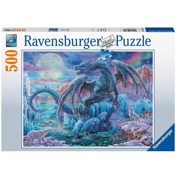 Ravensburger Mystical Dragons 500pc-RB14839-4-Animal Kingdoms Toy Store