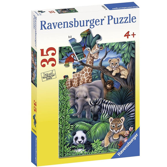 Ravensburger Puzzle Animal Kingdom 35pc-RB08601-6-Animal Kingdoms Toy Store