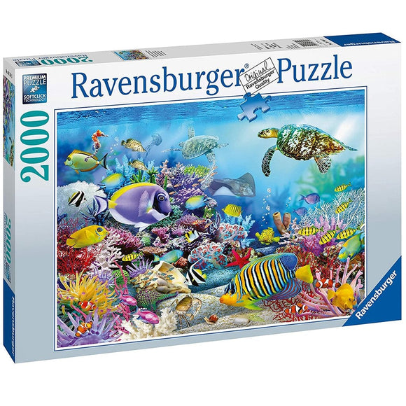 Ravensburger Coral Reef Majesty Puzzle 2000-RB16704-3-Animal Kingdoms Toy Store