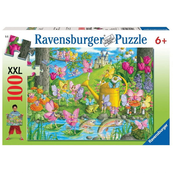 Ravensburger Fairy Playground Puzzle 100 pc-RB10602-8-Animal Kingdoms Toy Store