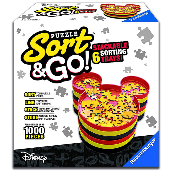 Ravensburger Mickey Mouse Puzzle Sort & Go!
