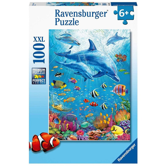 Ravensburger Pod of Dolphins 100 pc