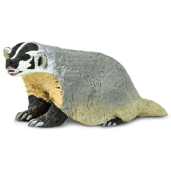 Safari Ltd American Badger-SAF295429-Animal Kingdoms Toy Store